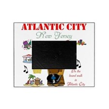 ON THE ATLANTIC CITY BOARDWALK. Picture Frame