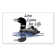 Love Loons for Life Decal