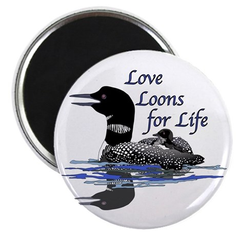 Love Loons for Life Magnet