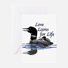 Love Loons for Life Greeting Cards (Pk of 10)