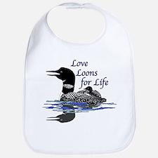 Love Loons for Life Bib