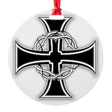 Barbed Templar Cross Ornament