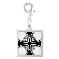 Barbed Templar Cross Charms