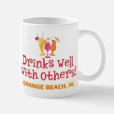 Orange Beach-Drinks Well Mug
