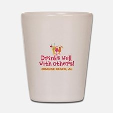 Orange Beach-Drinks Well Shot Glass