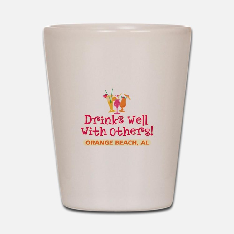 Orange Beach-Drinks Well Shot Glass