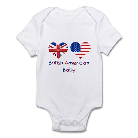 british-american-baby-3x3 Body Suit