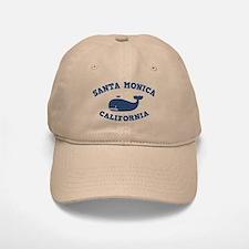 Santa Monica Whaling Baseball Baseball Cap