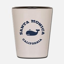 Santa Monica Whaling Shot Glass