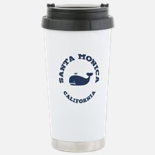 Santa Monica Whaling Stainless Steel Travel Mug