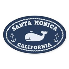 Santa Monica Whaling Decal