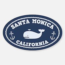 Santa Monica Whaling Decal