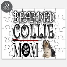 BEARDED COLLIE MOM Puzzle
