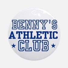 Benny Ornament (Round)