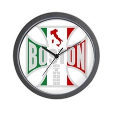Italian Boston Pride Wall Clock