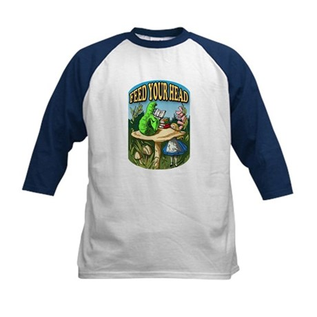Feed Your Head Kids Baseball Jersey