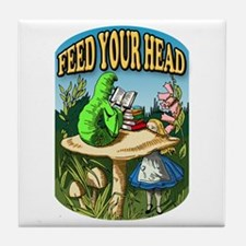 Feed Your Head Tile Coaster
