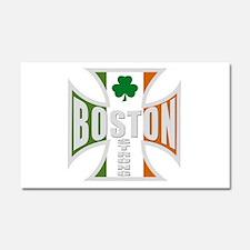 Irish Boston Pride Car Magnet 20 x 12