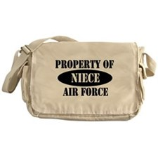 Property of Air Force Niece Messenger Bag