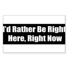 Right here, Right Now Decal