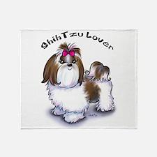Shih Tzu lover Throw Blanket