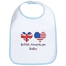 Cute British Bib