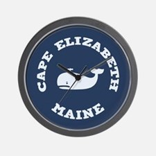 Cape Elizabeth Whaling Wall Clock