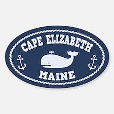 Cape Elizabeth Whaling Decal