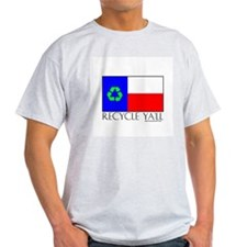 Recycle Ya'll Ash Grey T-Shirt