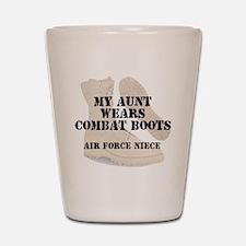 AF Niece Aunt wears DCB Shot Glass
