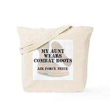 AF Niece Aunt wears DCB Tote Bag