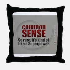 Superpower Throw Pillow