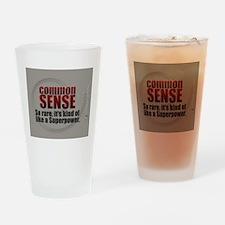 Superpower Drinking Glass