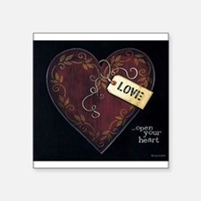 Open your heart... Sticker