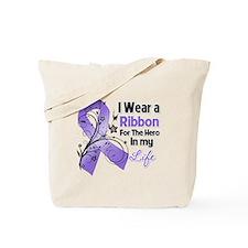 Ribbon Hero Hodgkins Lymphoma Tote Bag