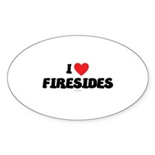 I Love Firesides - LDS TShirts - LDS Clothing - LD