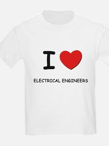 I love electrical engineers Kids T-Shirt