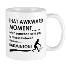 Badminton sports designs Mug