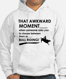 Bull Riding sports designs Hoodie
