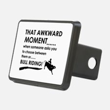 Bull Riding sports designs Hitch Cover