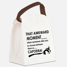 Capoeira sports designs Canvas Lunch Bag