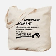 Capoeira sports designs Tote Bag