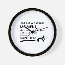 Capoeira sports designs Wall Clock