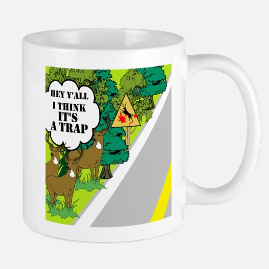 Deer Crossing Mug