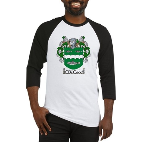 McCabe Coat of Arms Baseball Jersey