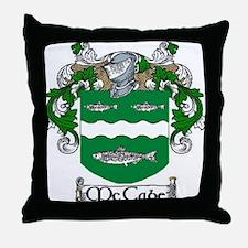 McCabe Coat of Arms Throw Pillow