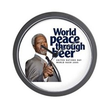 2005 World Peace Through Beer Wall Clock