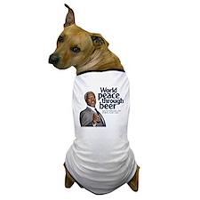 2005 World Peace Through Beer Dog T-Shirt