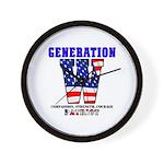 Generation W Wall Clock