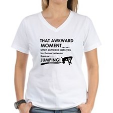 Jumping sports designs Shirt